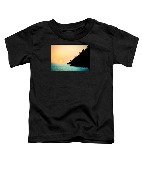 Seascape Sunrise Sea And Sun Toddler T-Shirt