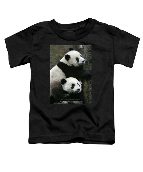 Sichuan Giant Panda Sanctuary, China Toddler T-Shirt