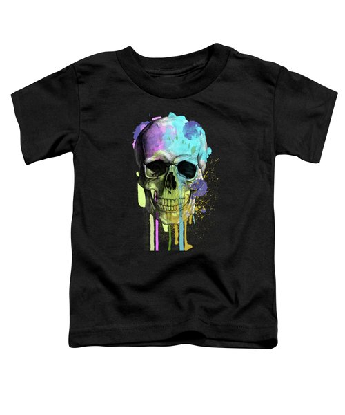 Halloween Toddler T-Shirt by Mark Ashkenazi