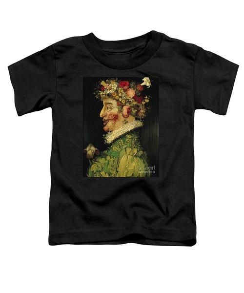 Spring Toddler T-Shirt by Giuseppe Arcimboldo