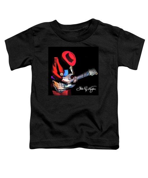 Stevie Ray Vaughan - Texas Flood Toddler T-Shirt
