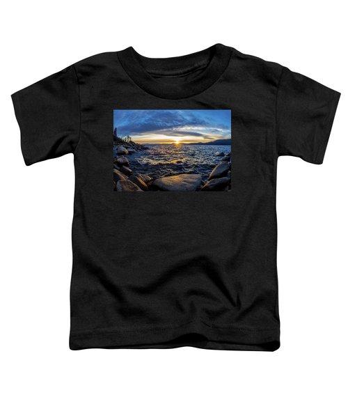 Tahoe Sunset Toddler T-Shirt
