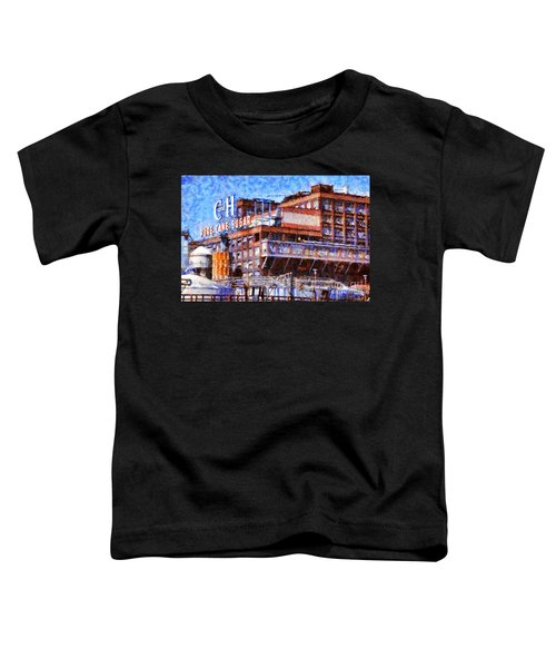 The Old C And H Pure Cane Sugar Plant In Crockett California . 5d16769 Toddler T-Shirt