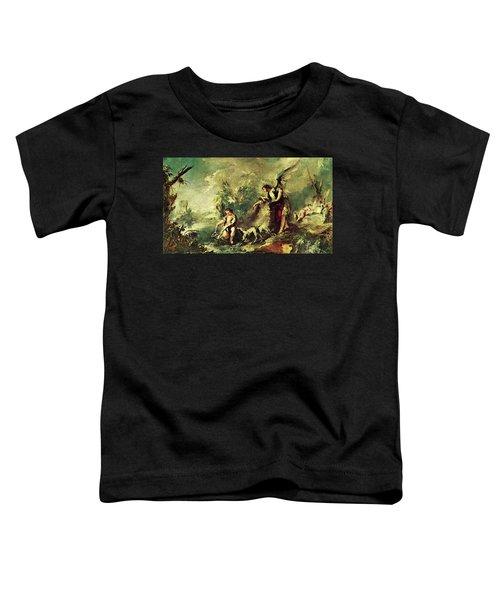 Tobias Fishing Toddler T-Shirt