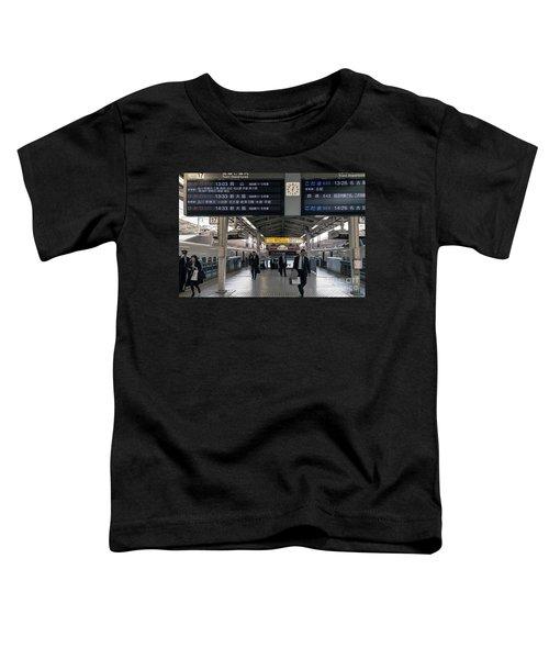 Tokyo To Kyoto, Bullet Train, Japan 3 Toddler T-Shirt
