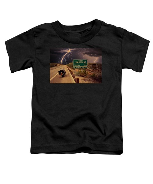 Trouble In Tombstone Toddler T-Shirt