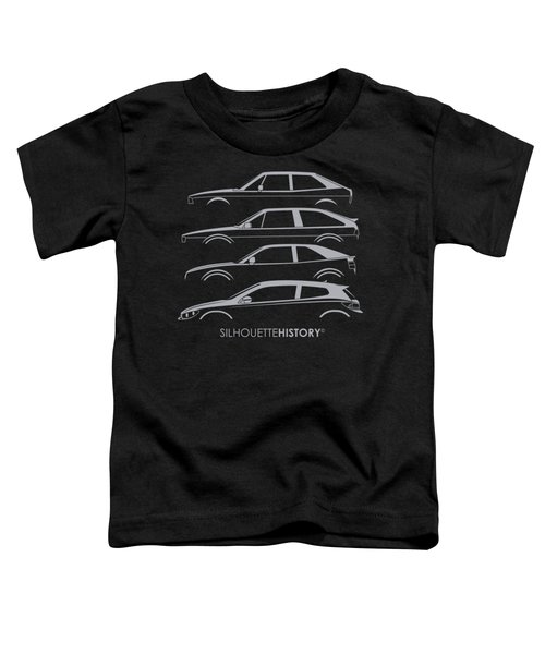 Wolfsburger Coupe Silhouettehistory Toddler T-Shirt