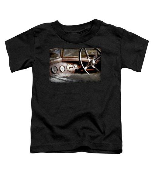 1921 Bentley Steering Wheel -0454ac Toddler T-Shirt