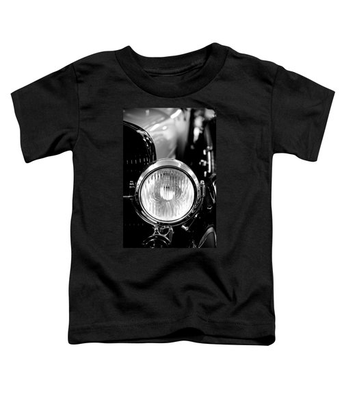 1925 Lincoln Town Car Headlight Toddler T-Shirt