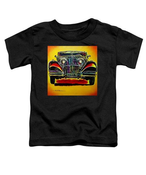 1937 Mercedes Benz First Wheel Down Toddler T-Shirt