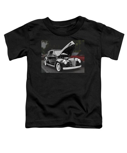 1940 Ford Deluxe Automobile Toddler T-Shirt