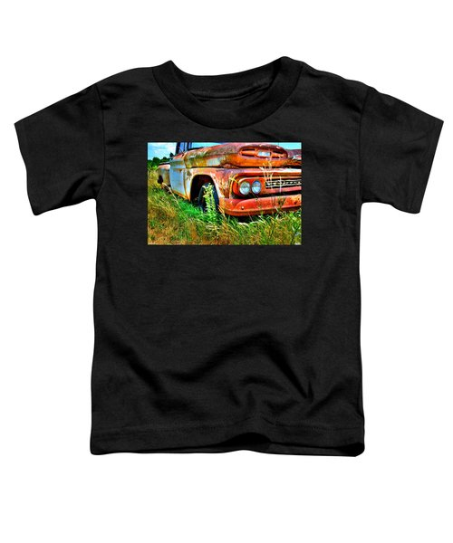 1961 Chevrolet Apache 10 5 Toddler T-Shirt