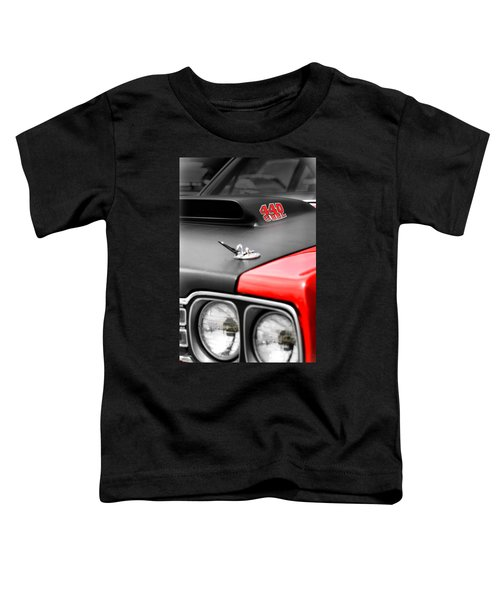 1969 Plymouth Road Runner 440 6bbl Toddler T-Shirt