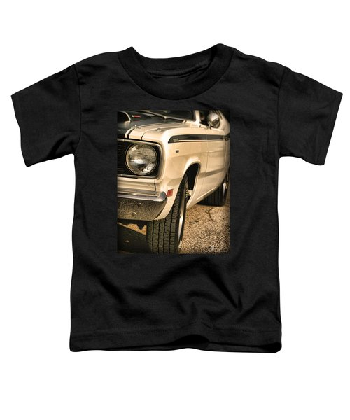 1971 Plymouth Duster 340 Four Barrel Toddler T-Shirt