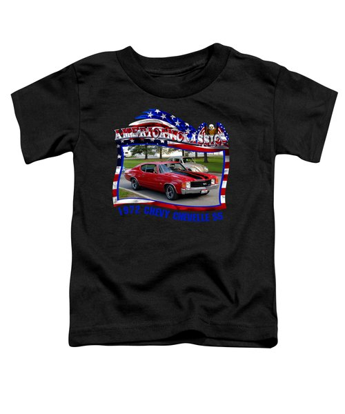 1972 Chevy Chevelle Ss Elvester Toddler T-Shirt