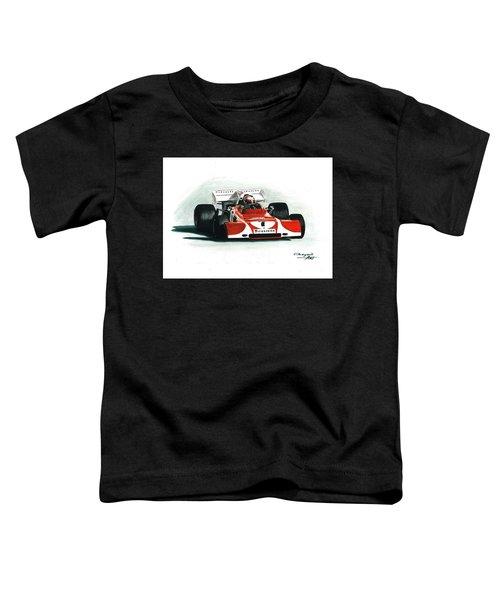 1972  Ferrari 312b2. South African Gp Toddler T-Shirt