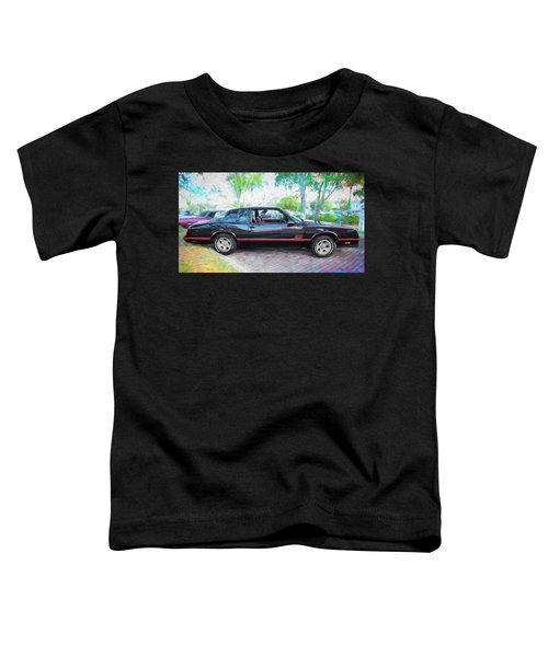 1987 Chevrolet Monte Carlo Ss Coupe C121 Toddler T-Shirt