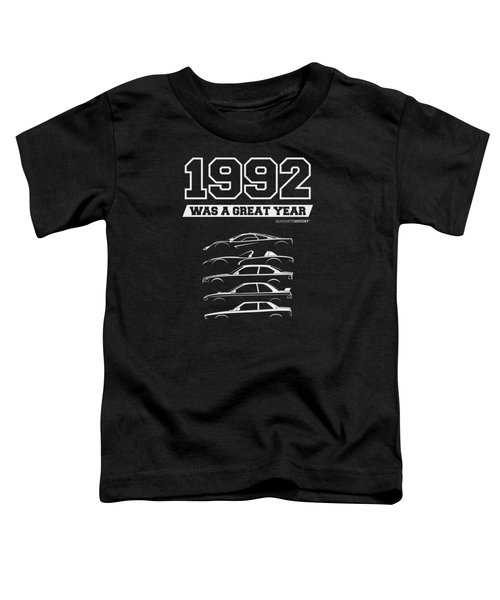 1992 Was A Great Year Silhouettehistory Toddler T-Shirt