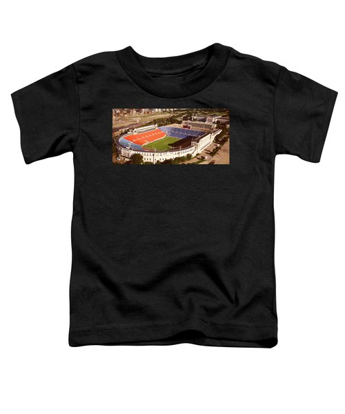 Aerial View Of A Stadium, Soldier Toddler T-Shirt by Panoramic Images
