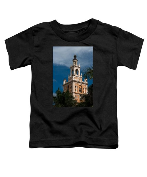Coral Gables Biltmore Hotel Tower Toddler T-Shirt