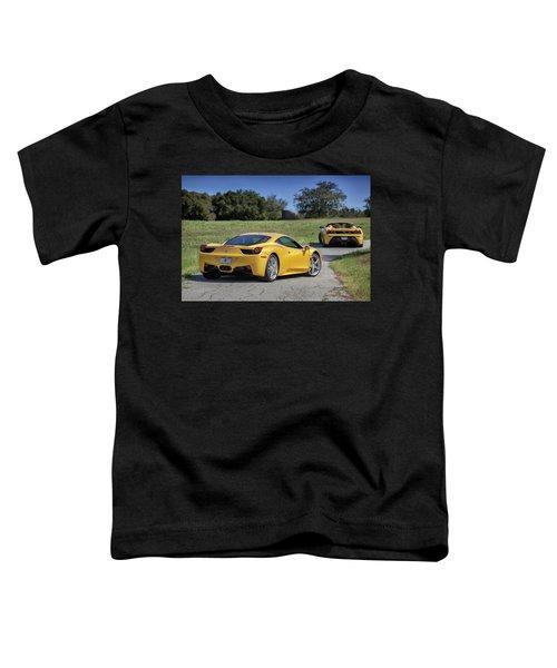 #ferrari #458italia #print Toddler T-Shirt