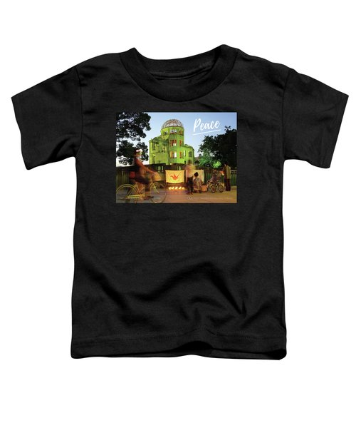 Hiroshima Peace Memorial, Japan Toddler T-Shirt