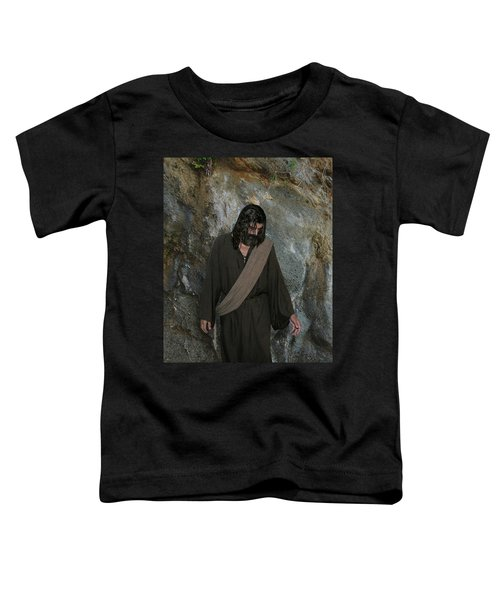 Jesus Christ- Rise And Walk With Me  Toddler T-Shirt
