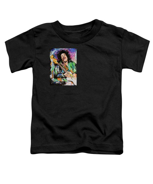 Jimi Hendrix Toddler T-Shirt by Richard Day