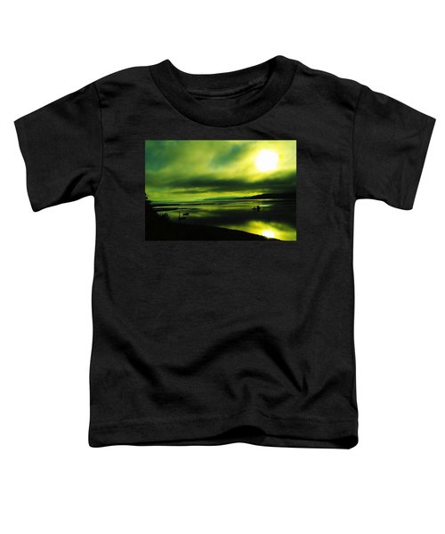 On Golden Waters  Toddler T-Shirt
