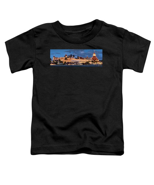 Pure And Simple Pano 60x20 Toddler T-Shirt