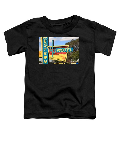 Route 66 - Western Motel Toddler T-Shirt
