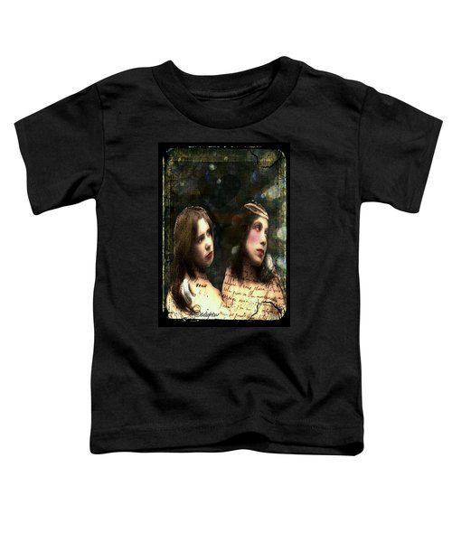 Two Sisters Toddler T-Shirt