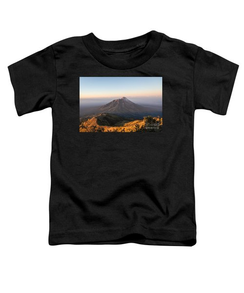 Sunrise Over Java In Indonesia Toddler T-Shirt