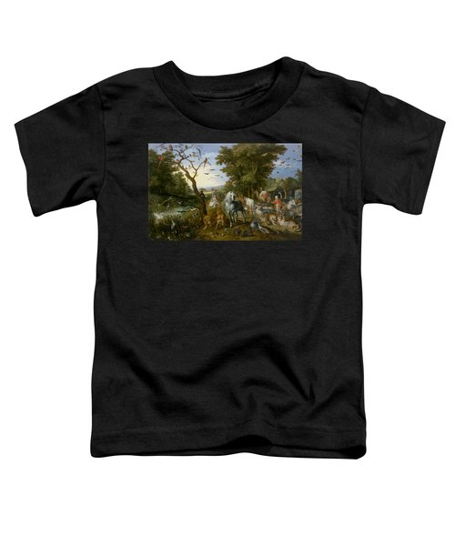 The Entry Of The Animals Into Noah's Ark Toddler T-Shirt