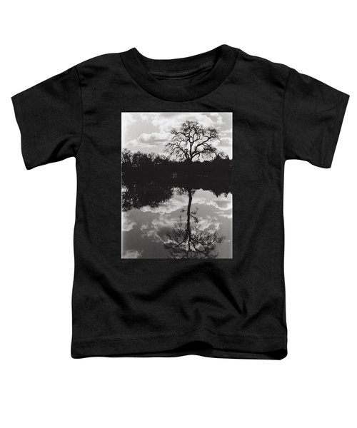 Tree Reflection Sebastopol Ca, Toddler T-Shirt