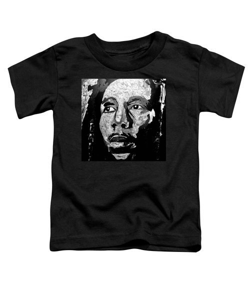 Tribute To Bob Marley Toddler T-Shirt