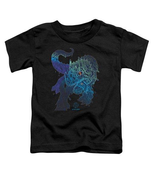 Triceratrippin Toddler T-Shirt by Jordan Kotter