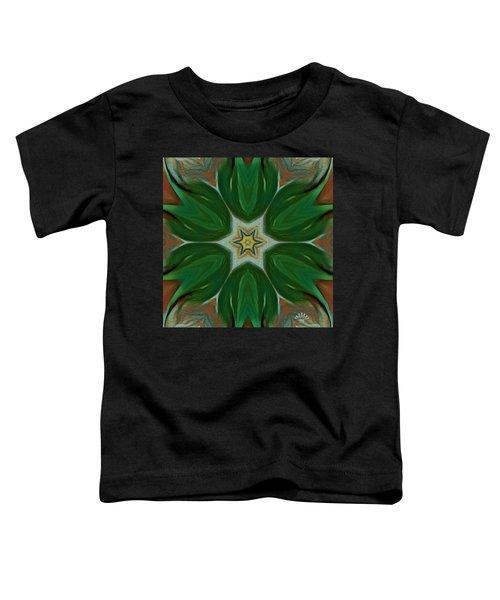 Watercolor Flower Art Toddler T-Shirt