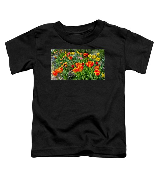 2015 Acewood Tulips 1 Toddler T-Shirt