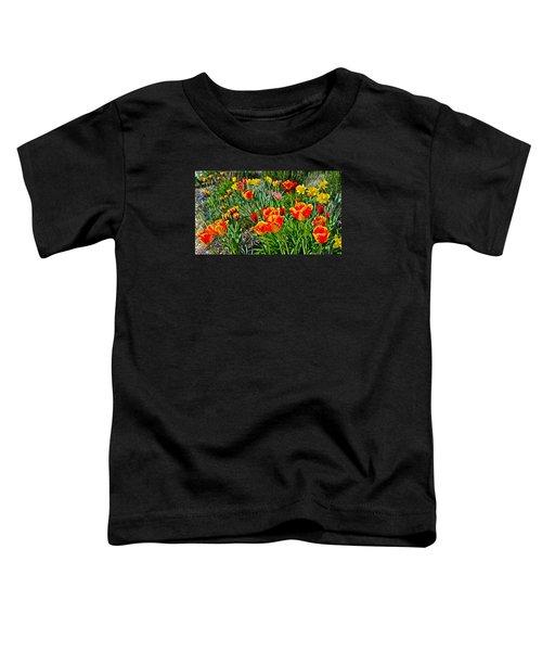 2015 Acewood Tulips 1 Toddler T-Shirt