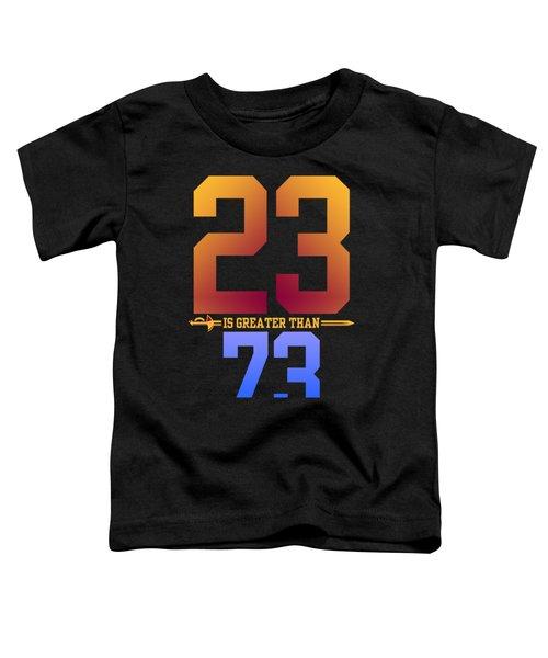 2373-2 Toddler T-Shirt by Augen Baratbate