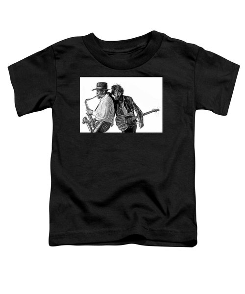 Bruce Springsteen Clarence Clemons Collection Toddler T-Shirt