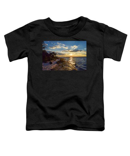 Sunset On The Cape Fear River Toddler T-Shirt