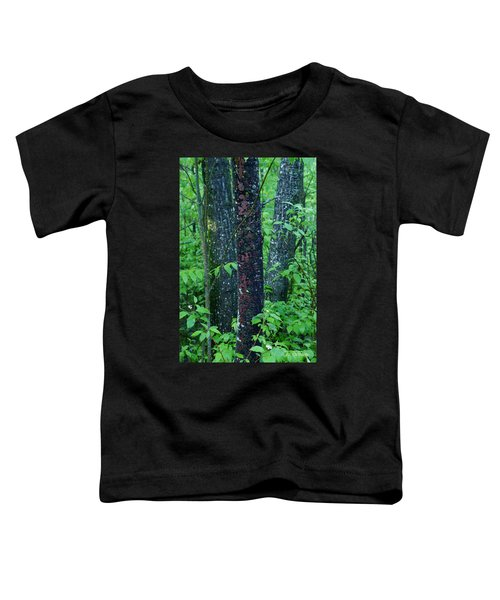 Toddler T-Shirt featuring the photograph 3 Trees by Joanne Smoley