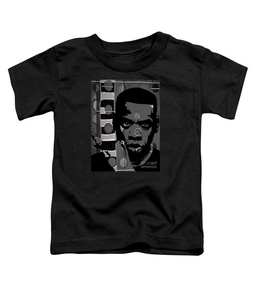 Jay Z Collection Toddler T-Shirt by Marvin Blaine