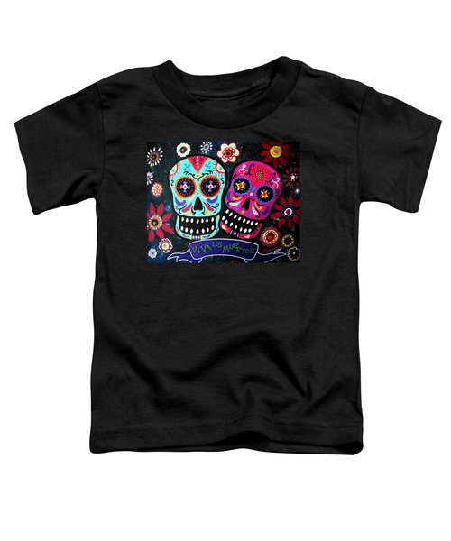 Couple Day Of The Dead Toddler T-Shirt
