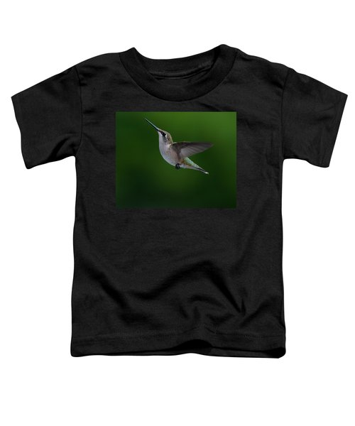 Female Ruby Throated Hummingbird Toddler T-Shirt