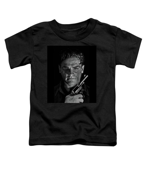 James Cagney - A Study Toddler T-Shirt
