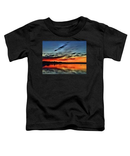 Sunrise Onset Pier Toddler T-Shirt