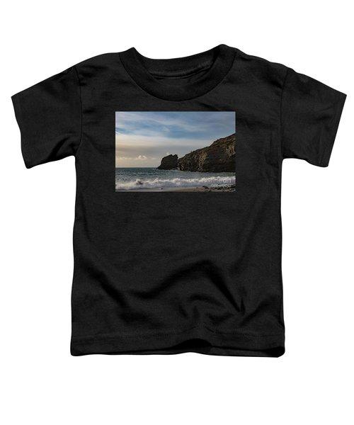 Trevellas Cove Cornwall Toddler T-Shirt